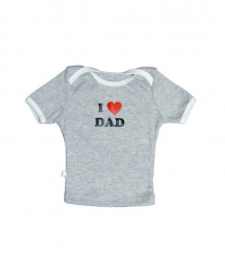 "T-shirt mangas cortas ""I Love Dad"""