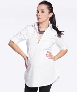 Camisa blanca easy chic