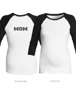 "Camiseta manga 3/4 ""MOM"""