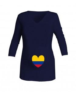 Camiseta azul Love Selección