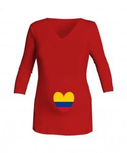 Camiseta roja Love Selección
