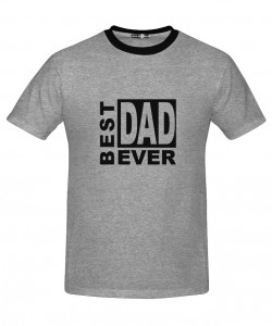 Camiseta gris Best Dad