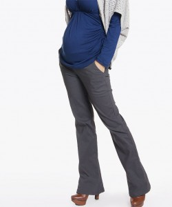 Pantalón stretch gris acero