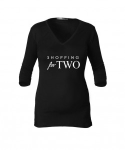 "Camiseta ""Shopping for Two"""