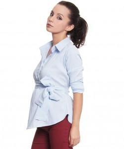 Camisa rayitas azules