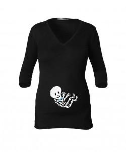 Camiseta manga 3/4 esqueleto baby boy