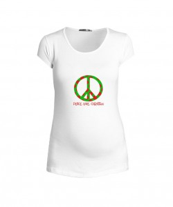 Camiseta Peace Christmas