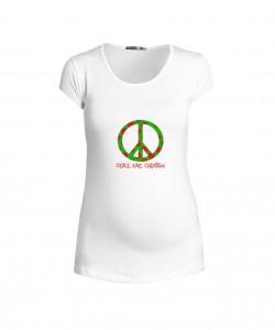 Camiseta Peace Christmas