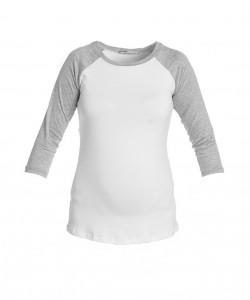 Camiseta baseball mangas grises