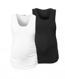 Pack tanks x2 blanco y negro