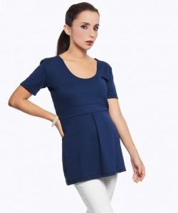 Top Isabel azul