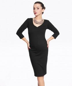 Vestido básico Cotton negro