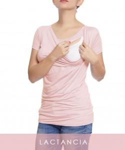 Top de lactancia Hellen palo de rosa