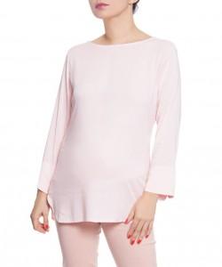 Blusa de chalis stretch Rosa pastel