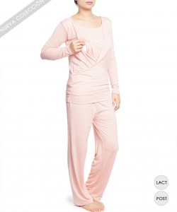 Pijama de lactancia Peech