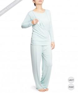Pijama de lactancia Pistacho