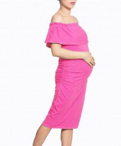 Vestido bandeja rosa