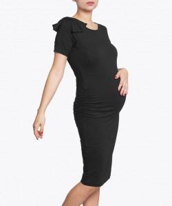 Vestido con moño negro