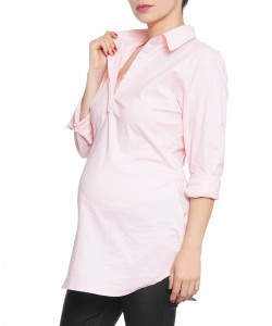 Camisa Easy Chic Rosa