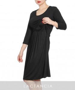 Vestido de lactancia negro