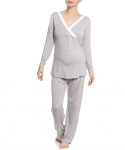 "Pijama Gris ""Stylish Mom"""