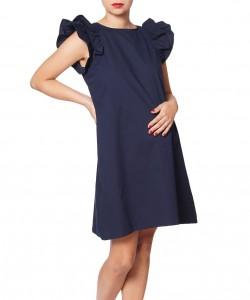 Vestido Holly azul navy