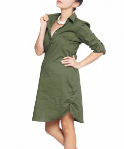 Vestido camisero Oliva