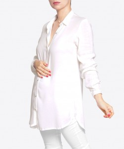 Camisa White Pearl