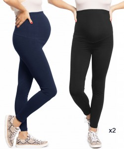 Pack 2 leggins Plus negro y navy