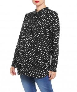 Camisa chalis polka