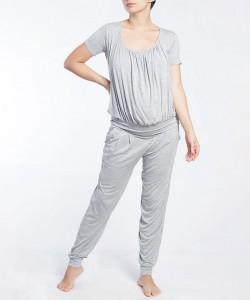 Pijama pantalón y top manga corta