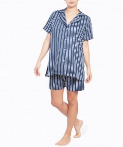 Pijama short azul razyas