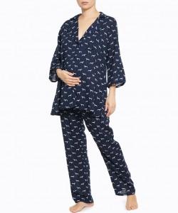 Pijama navy mini-dogs