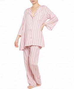 Pijama palo de rosa de rayas