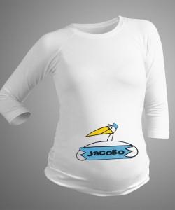 Camiseta personalizada con nombre niño