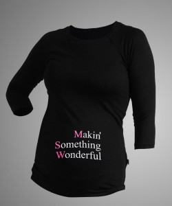 "Camiseta manga 3/4 ""Making Wonderfull"""