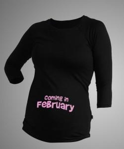 Camiseta personalizada con mes de nacimiento